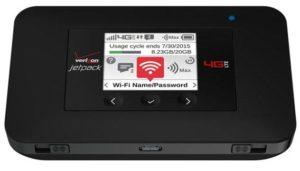 Verizon Jetpack Wi-Fi Hotspot