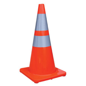 "28"" Reflective Traffic Cones"